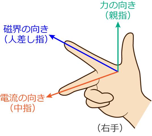の 法則 左手